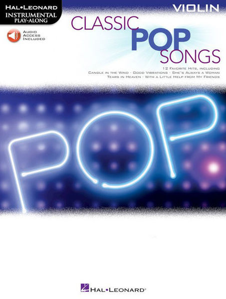 Hal Leonard Classic Pop Songs Violin