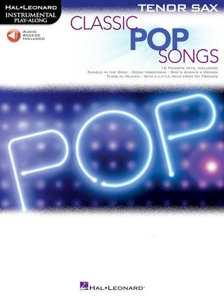 Hal Leonard Classic Pop Songs T-Sax