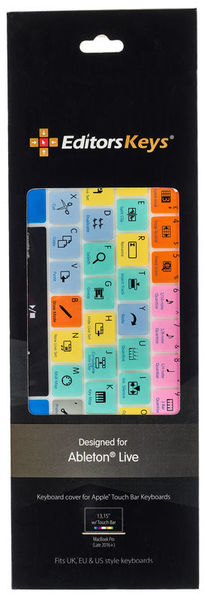 buy popular fb715 2925b Editors Keys Keyboard Skin Ableton Magic