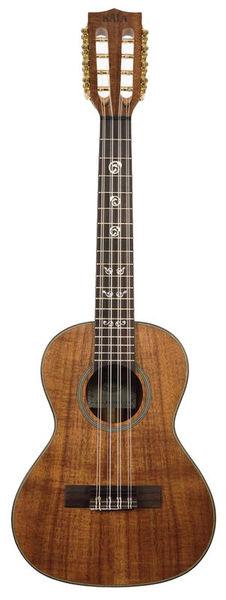 Kala Solid Acacia Tenor 8 String