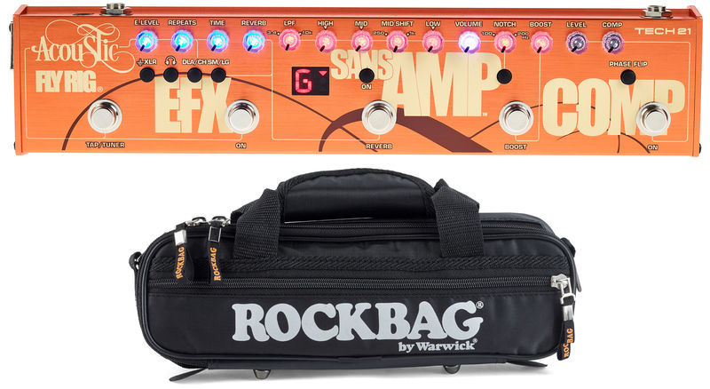 Tech 21 Acoustic Fly Rig Bundle 1
