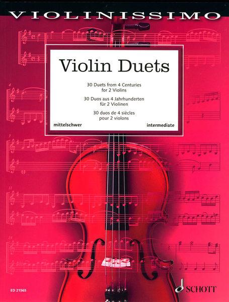 Schott Violin Duets