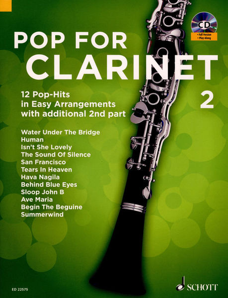 Schott Pop For Clarinet Vol.2