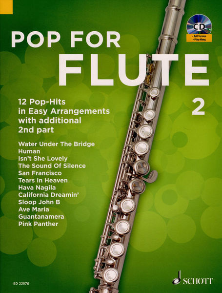 Schott Pop For Flute Vol.2