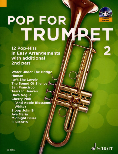 Schott Pop For Trumpet Vol.2