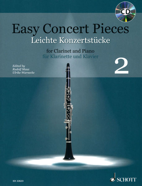 Schott Easy Concert Pieces Clarinet 2