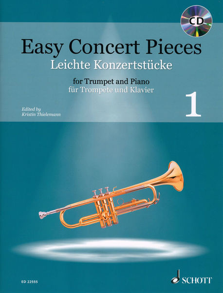 Schott Easy Concert Pieces Trumpet 1