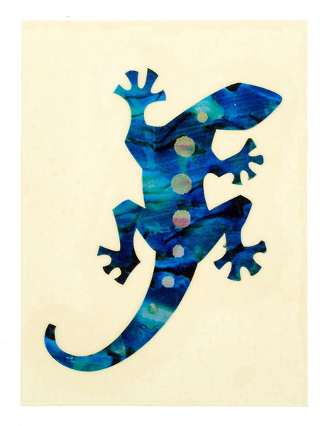 Jockomo Lizard Sticker AB