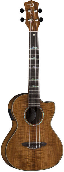 Luna Guitars Ukulele High Tide Koa Tenor