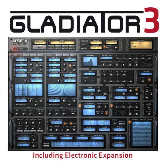 Tone2 Gladiator Expanded