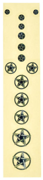 Jockomo Pentagram Sticker
