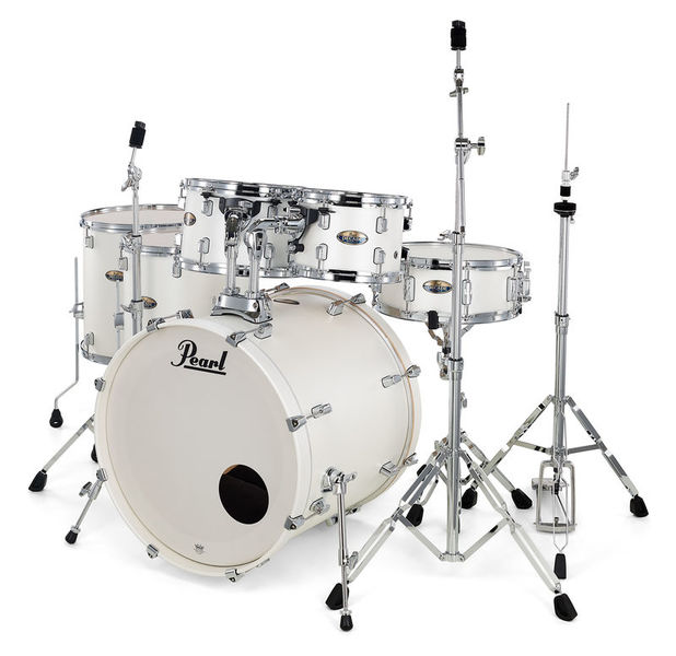 Pearl Decade Maple 6pc Satin White