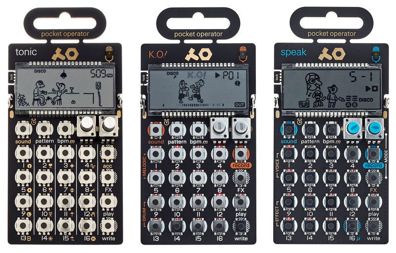 Teenage Engineering PO-30 Superset