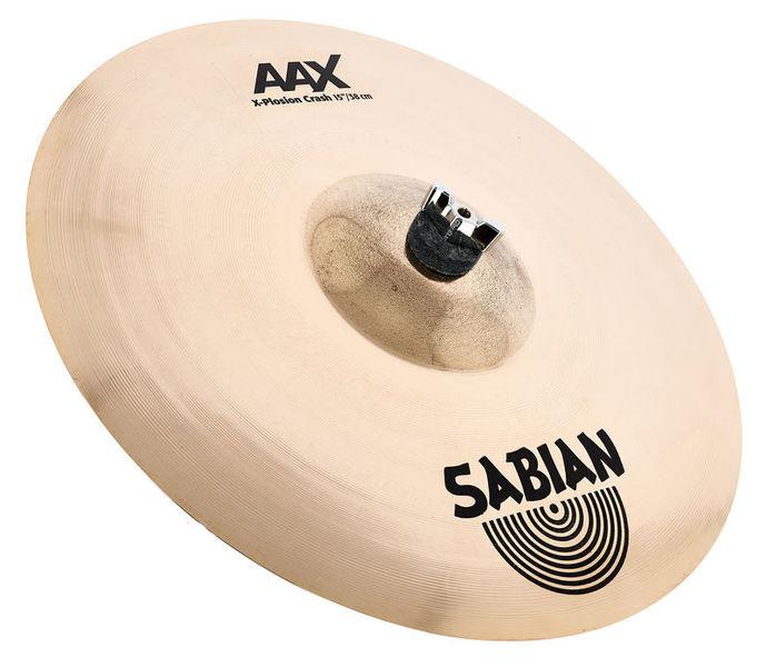 """Sabian 15"""" AAX AAXplosion Crash"""