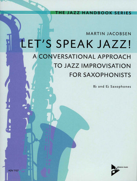 Advance Music Let's Speak Jazz! Sax