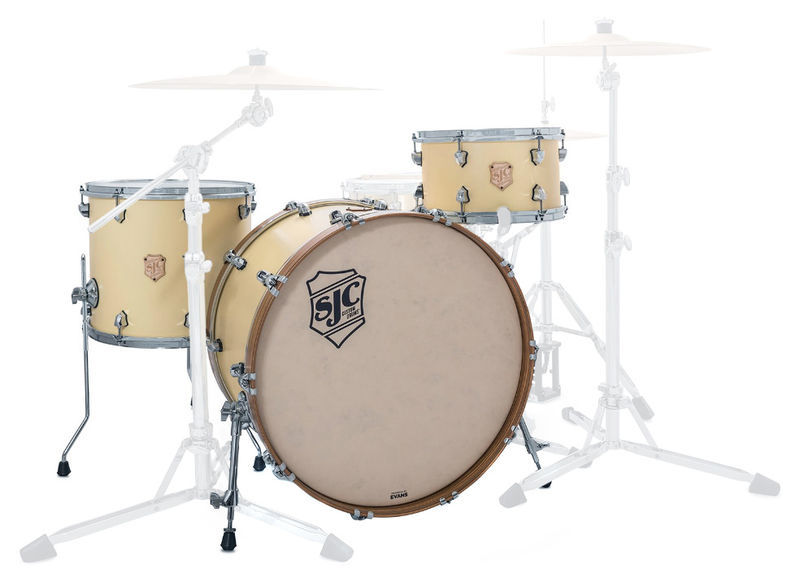 SJC Drums Heirloom 3-piece shell set MCY
