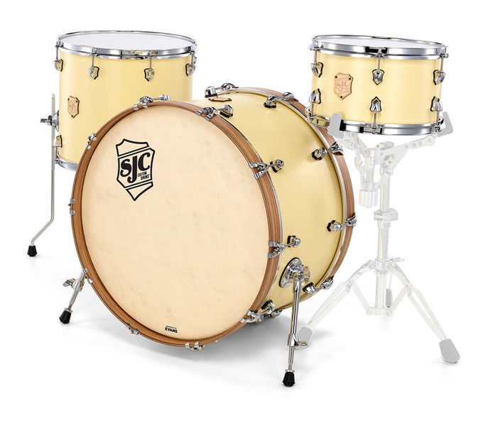 SJC Drums Heirloom 3-piece shell set MCY