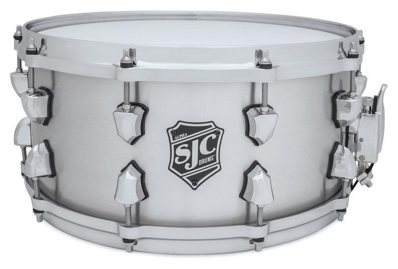 "14""x6,5"" Alpha Aluminum Snare SJC Drums"