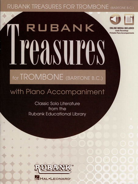 Hal Leonard Rubank Treasures for Trombone