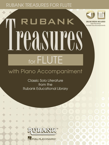 Hal Leonard Rubank Treasures for Flute
