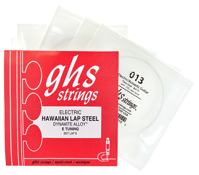 GHS Hawaiian Lap Steel Set E