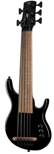 Kala U-Bass Solid Body 5 String BLK