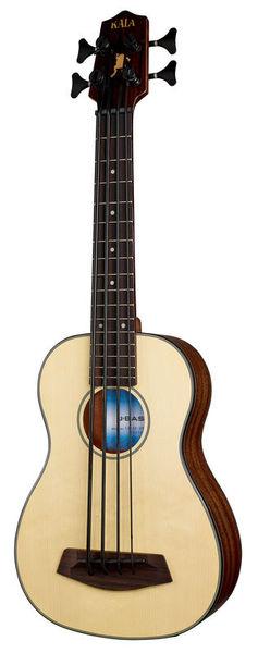 Kala U-Bass Solid Spruce Mahogany