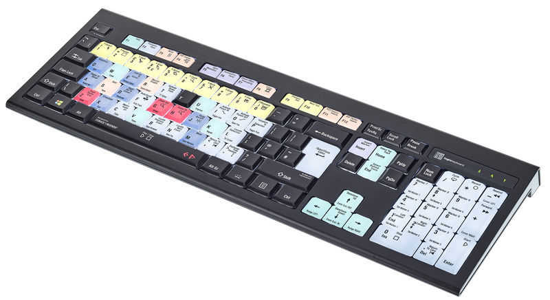 Logickeyboard Astra Cubase/Nuendo PC UK