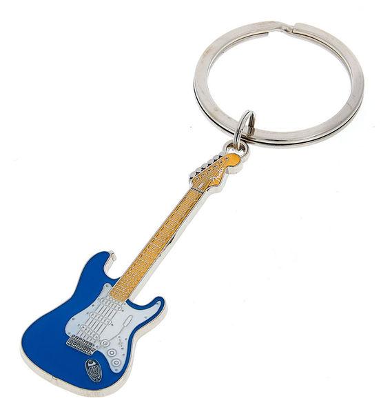 Fender Blue Stratocaster Keychain