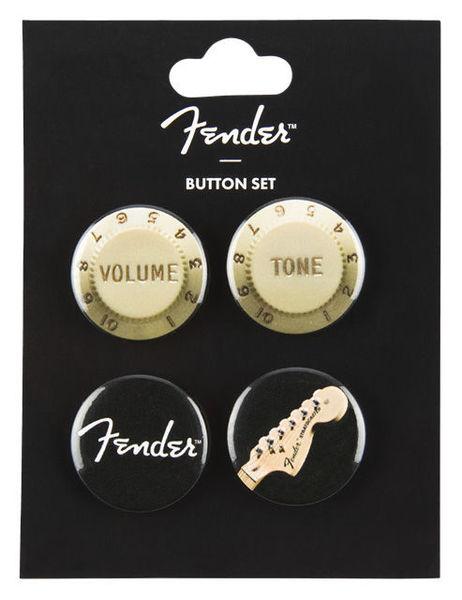 Fender 4-Pack Button Set