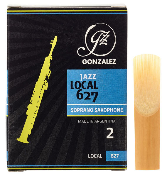 Gonzalez Soprano Sax Reed Local 627 2