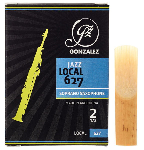 Gonzalez Soprano Sax Reed Local 627 2,5