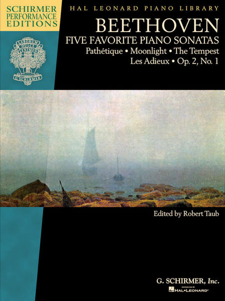 G. Schirmer Beethoven Five Piano Sonatas