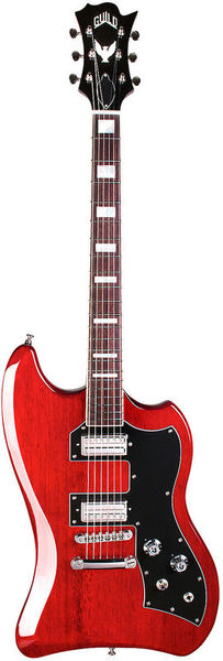 Guild T-Bird ST Cherry Red