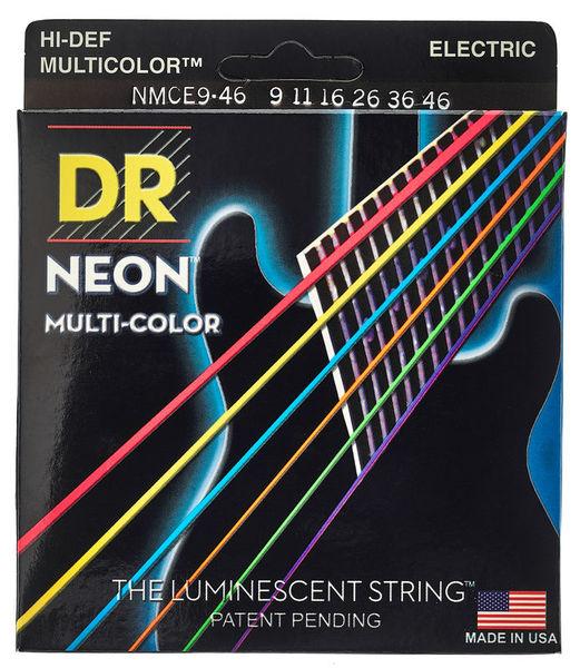 DR Strings HiDef Multi Color Neon E 9-46