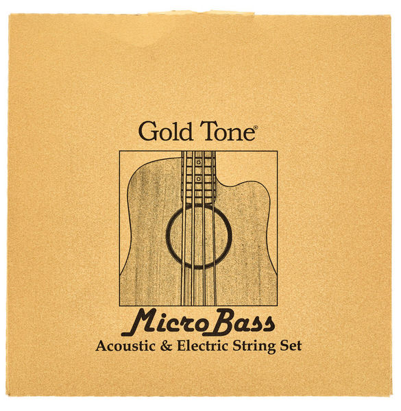 Gold Tone MBS Micro Bass String Set