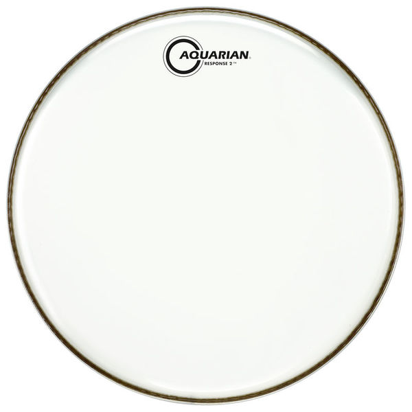 "Aquarian 24"" Response 2 Clear Bass Drum"