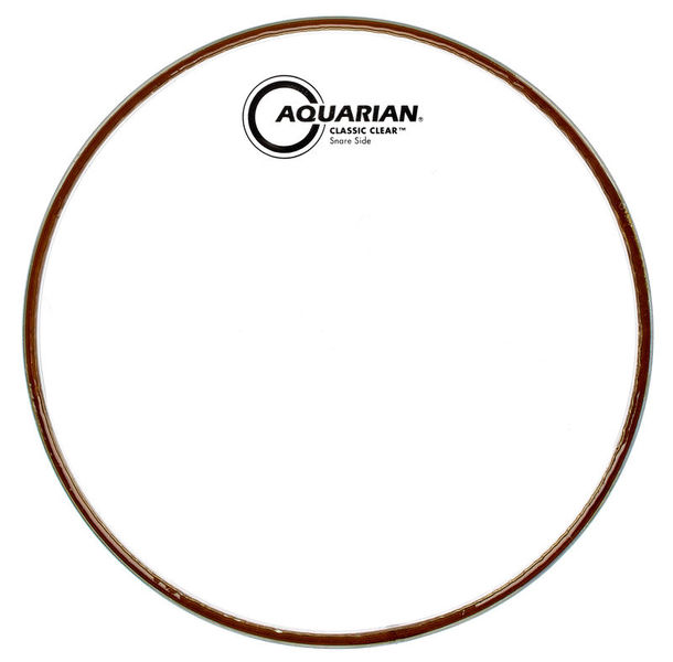 "Aquarian 10"" Classic Clear Resonant"