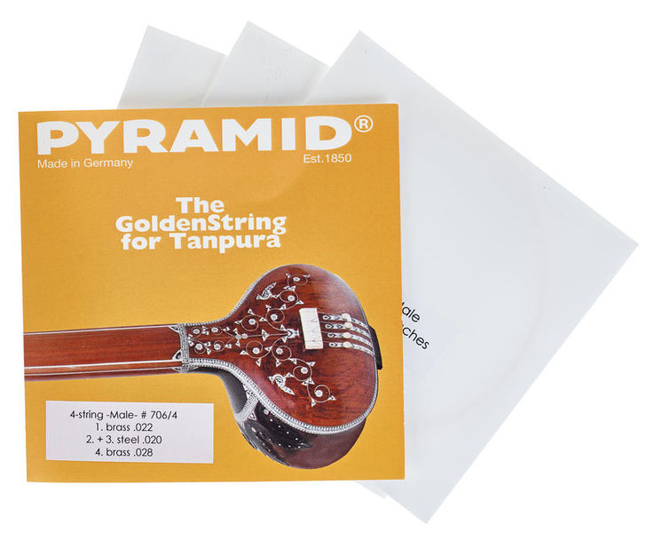 Pyramid 706/4 Tanpura Strings Gents