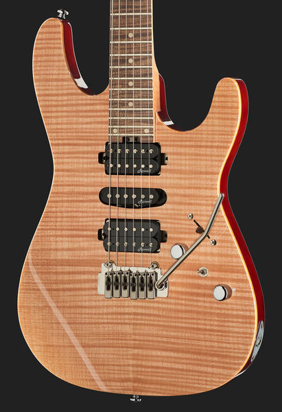 New Harley Benton Fusion HSH Roasted Maple has arrived! | The Gear Page