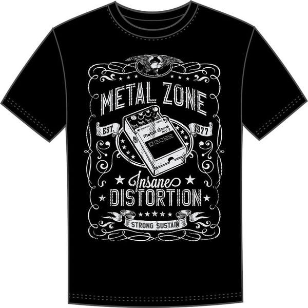 T-Shirt Metal Zone M Boss