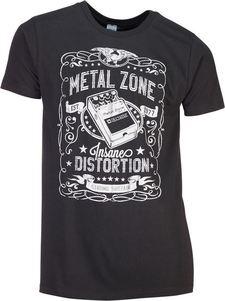 Boss T-Shirt Metal Zone M