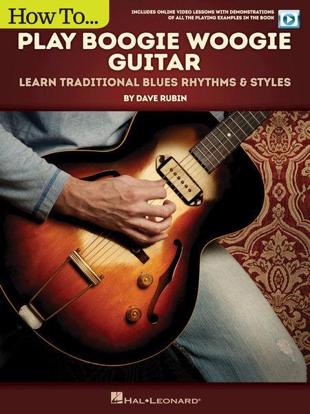 Hal Leonard Play Boogie Woogie Guitar