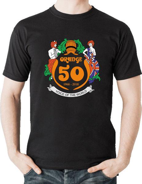 Orange T-Shirt 50th Anniversary XXL