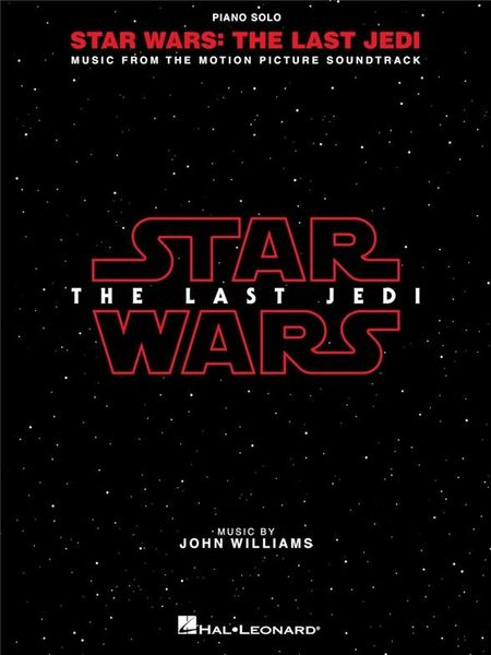 Hal Leonard Star Wars-The Last Jedi Piano