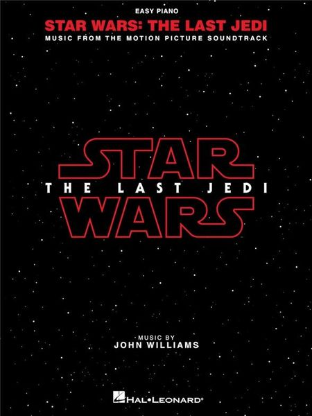 Hal Leonard Star Wars-The Last Jedi Easy P