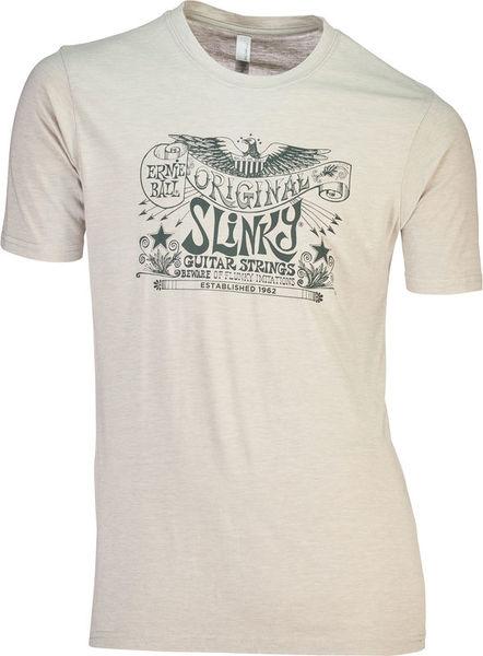 Ernie Ball T-Shirt Slinky Silver XXL