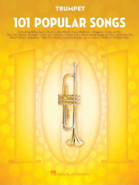 Hal Leonard 101 Popular Songs Trumpet