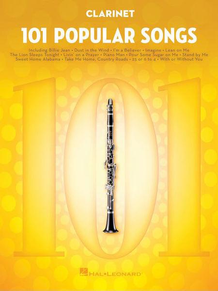 Hal Leonard 101 Popular Songs Clarinet