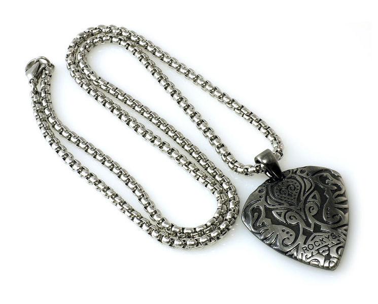 Rockys Necklace Plectrum Vintage 1